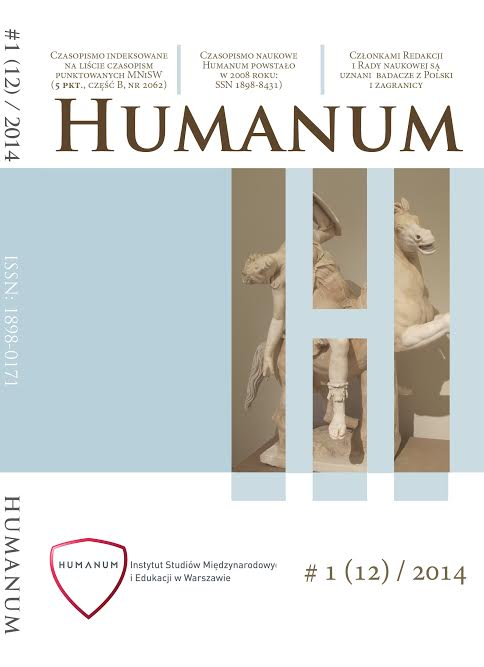 Humanum - Humanum - About the Journal